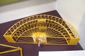 how to build a spaghetti arch bridge