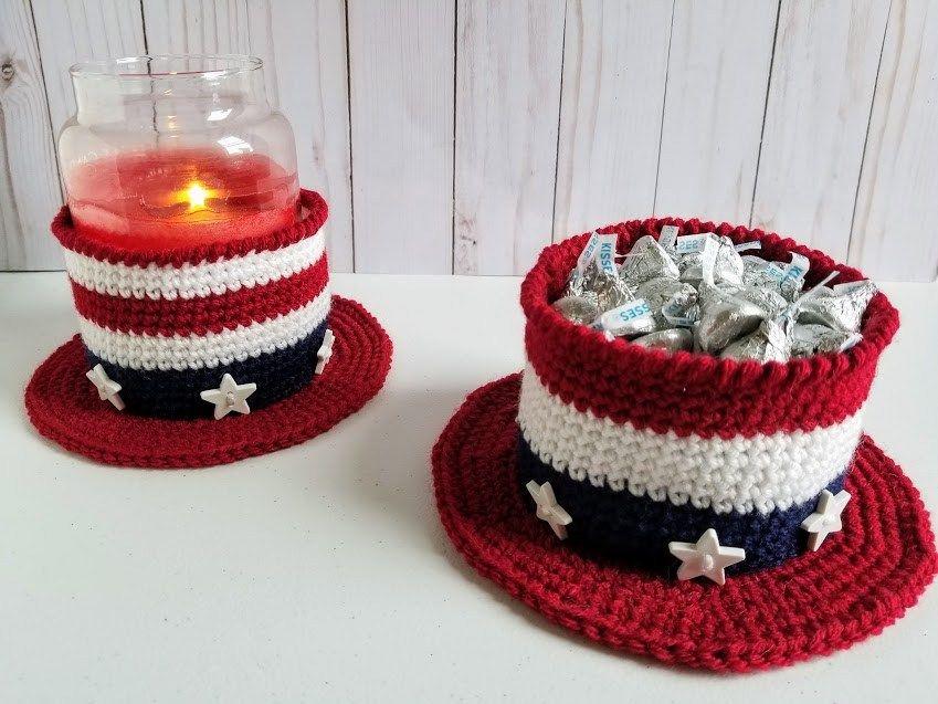 Americana Hat Free crochet pattern, Crochet patterns