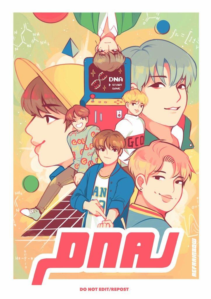 BTS DNA Fanart 3