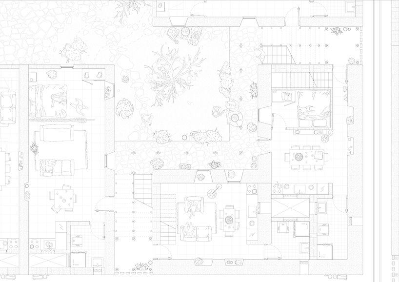 arianna fornasiero + paolo turconi's flexible housing plan