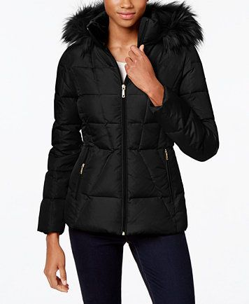 Puffer Womens For Sale Coat In Authentic Klein Calvin Black wOkPX8n0