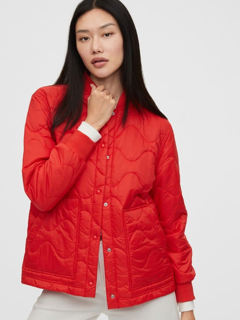 Gap Has So Many Cute Coats And Jackets Right Now It S Hard To Pick Just One Quilted Puffer Jacket Gap Outfits Jackets [ 1024 x 768 Pixel ]