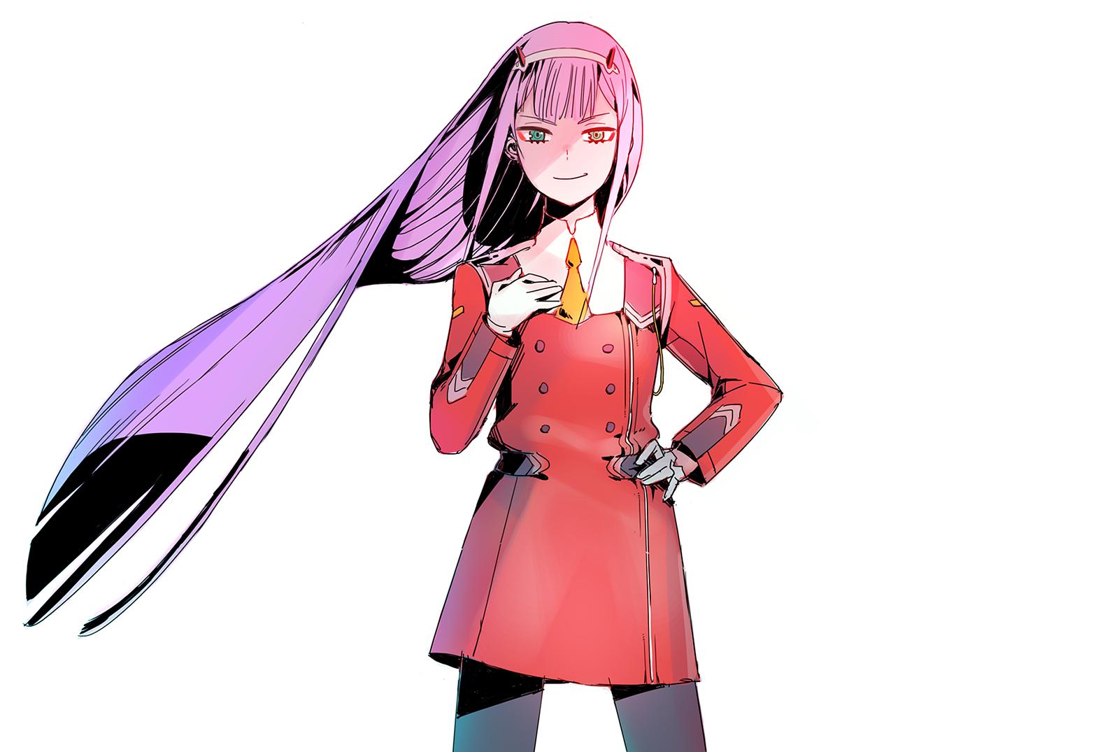 Anime Darling in the FranXX Zero Two (Darling in the FranXX) Long