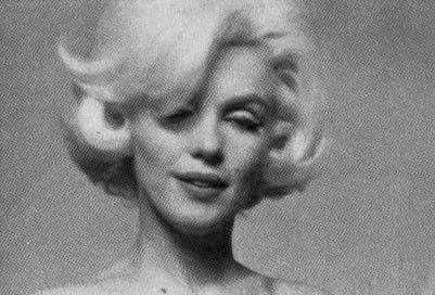 Marilyn. Face sitting. Photo by Bert Stern, 1962.