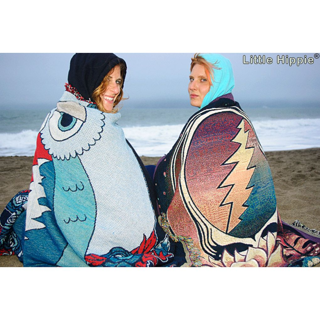 Grateful Dead Blankets for everyone =) Lotus Steal Your Face