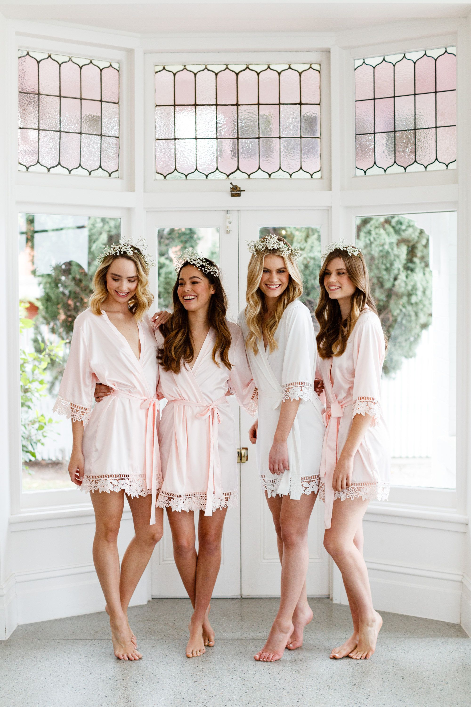 Le rose wedding robes