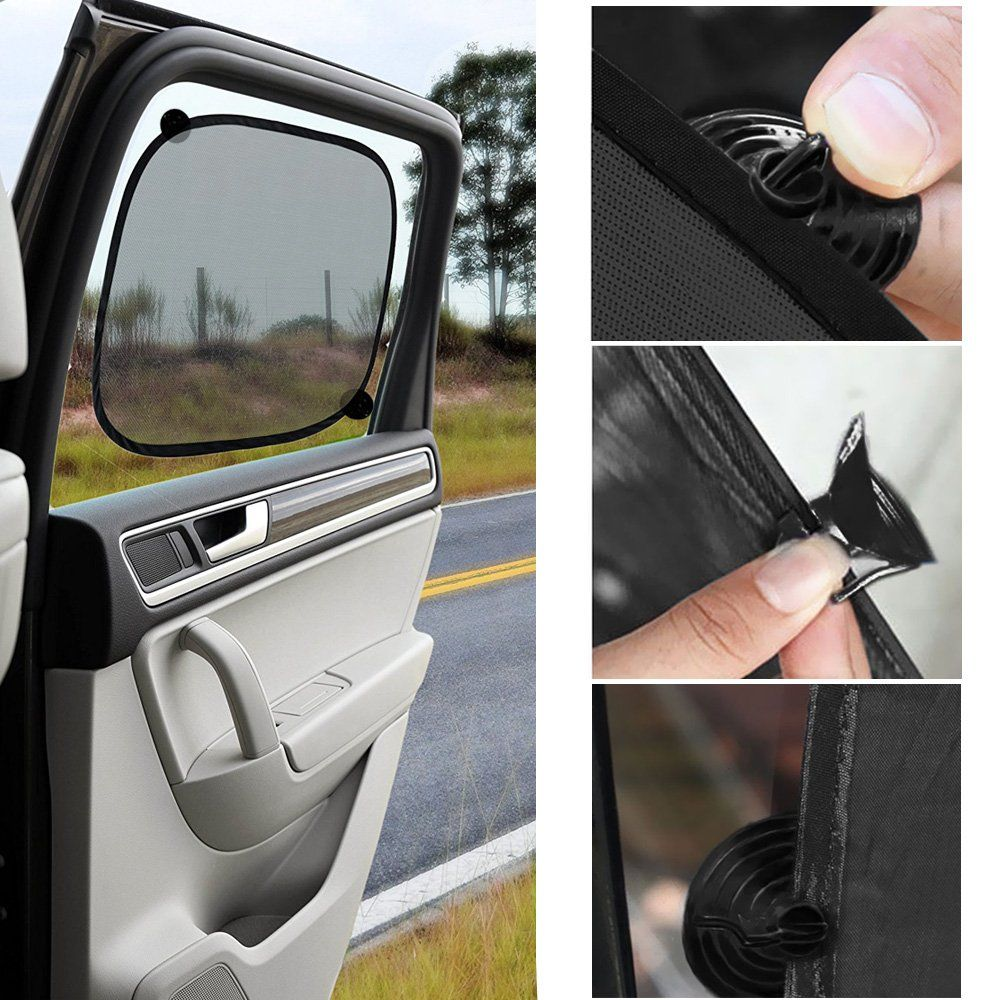 Car window coverings  car sun shade ubegood uv rays resistant car window shade for child
