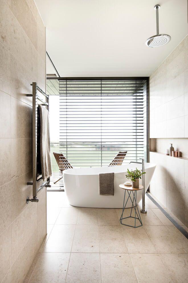 Clovelley House By Brett Mickan Interior Design Spa Bathroom