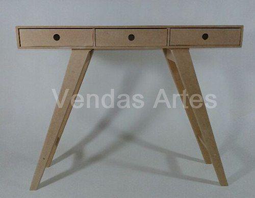 Aparador Retro C/3 Gavetas   Mdf Cru. Furniture ...