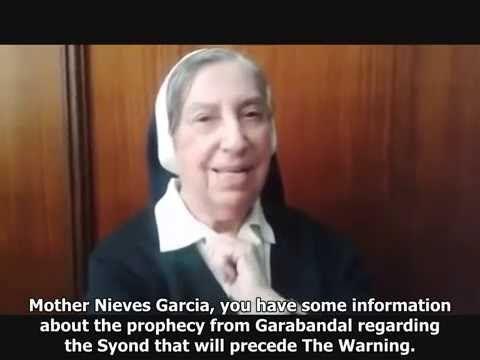 De Maagd in 1961 in Garabandal: 'Na een belangrijke Synode zal spoedig de Waarschuwing komen'  