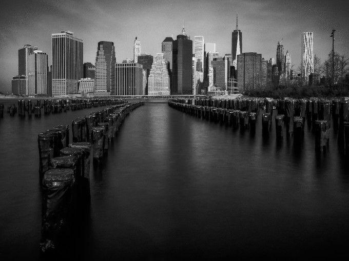 Manhattan Skyline: Photo by Photographer Jed Pearson - photo.net