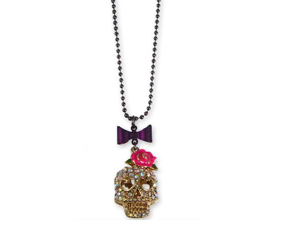 Betsey Johnson Skull Necklace - I own this one & love it!