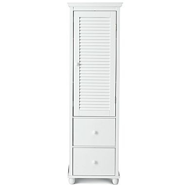 Bath Furniture Louvered Ii Collection In White Jcpenney
