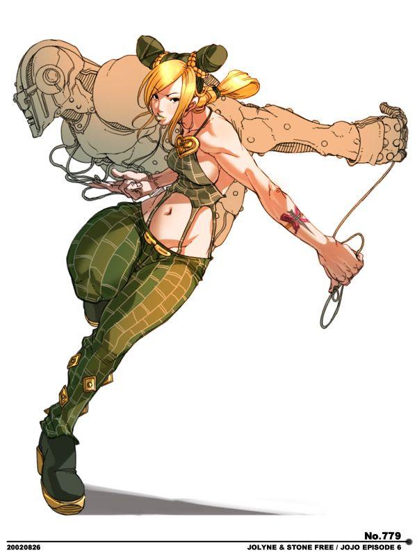 awesome pose illustration pinterest jojo bizarre anime and