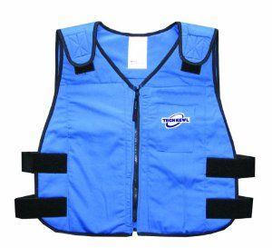 Techkewl 6626 Rb M L Phase Change Cooling Vest Safety Vests Amazon Com With Images Cooling Vest Safety Vest Vest