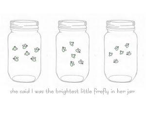 Mason Jar Firefly Printable Mason Jar Printables Firefly Mason Jars Fireflies In A Jar