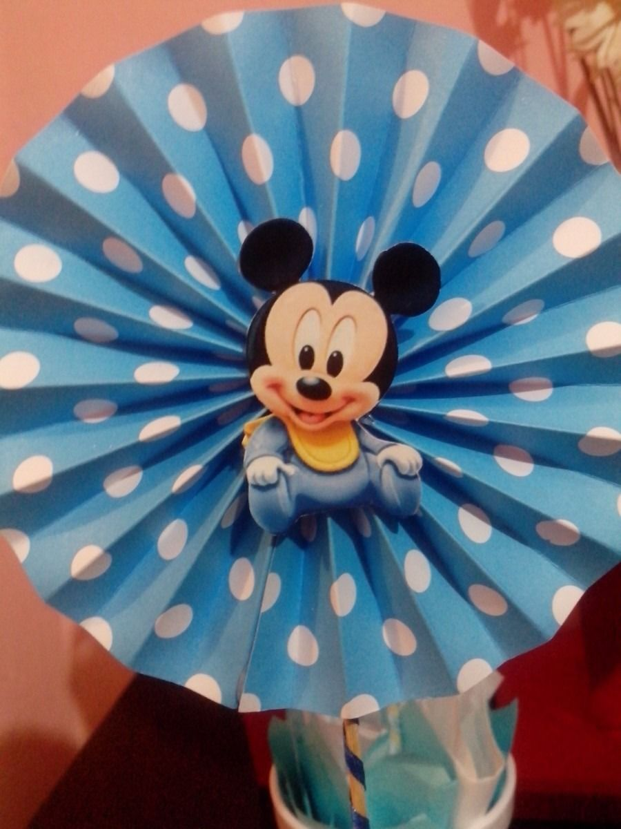 Centro de mesa topiario mickey bebe 359401 mla20328264376 062015 900 1200 mickey mouse - Photo minnie et mickey bebe ...