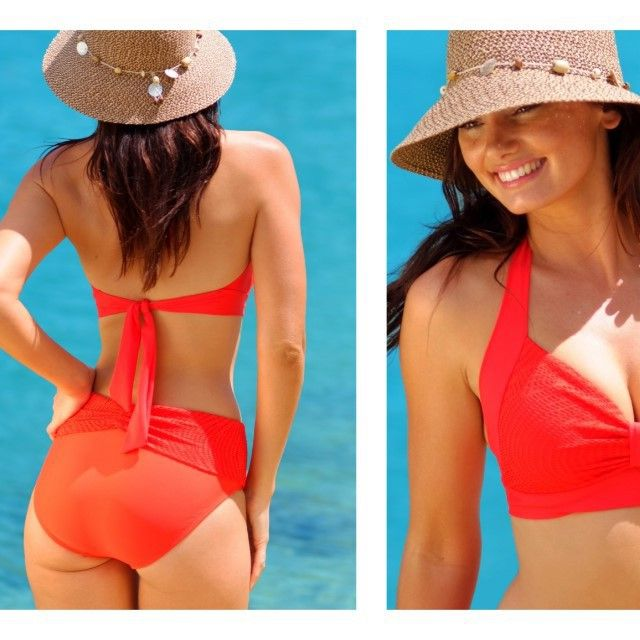 Santorini 'Flame' is always on fire! #love #swimwear #finchswim #summerlovin