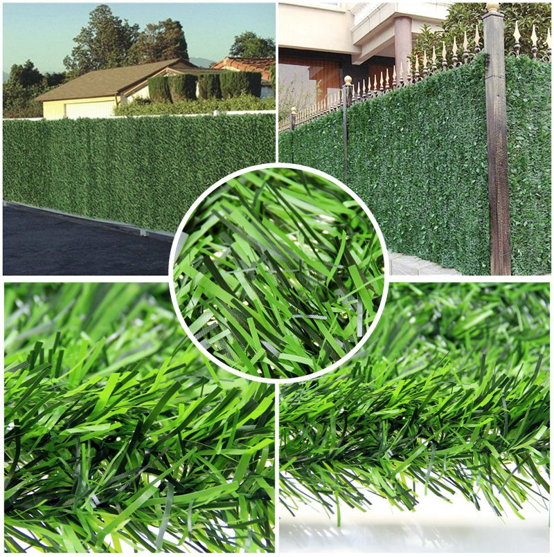 4 5 Square Meter Artificial Gr Fence Covering Hedge Garden Privacy Decorative Landscaping Free Shipping G0602b008d