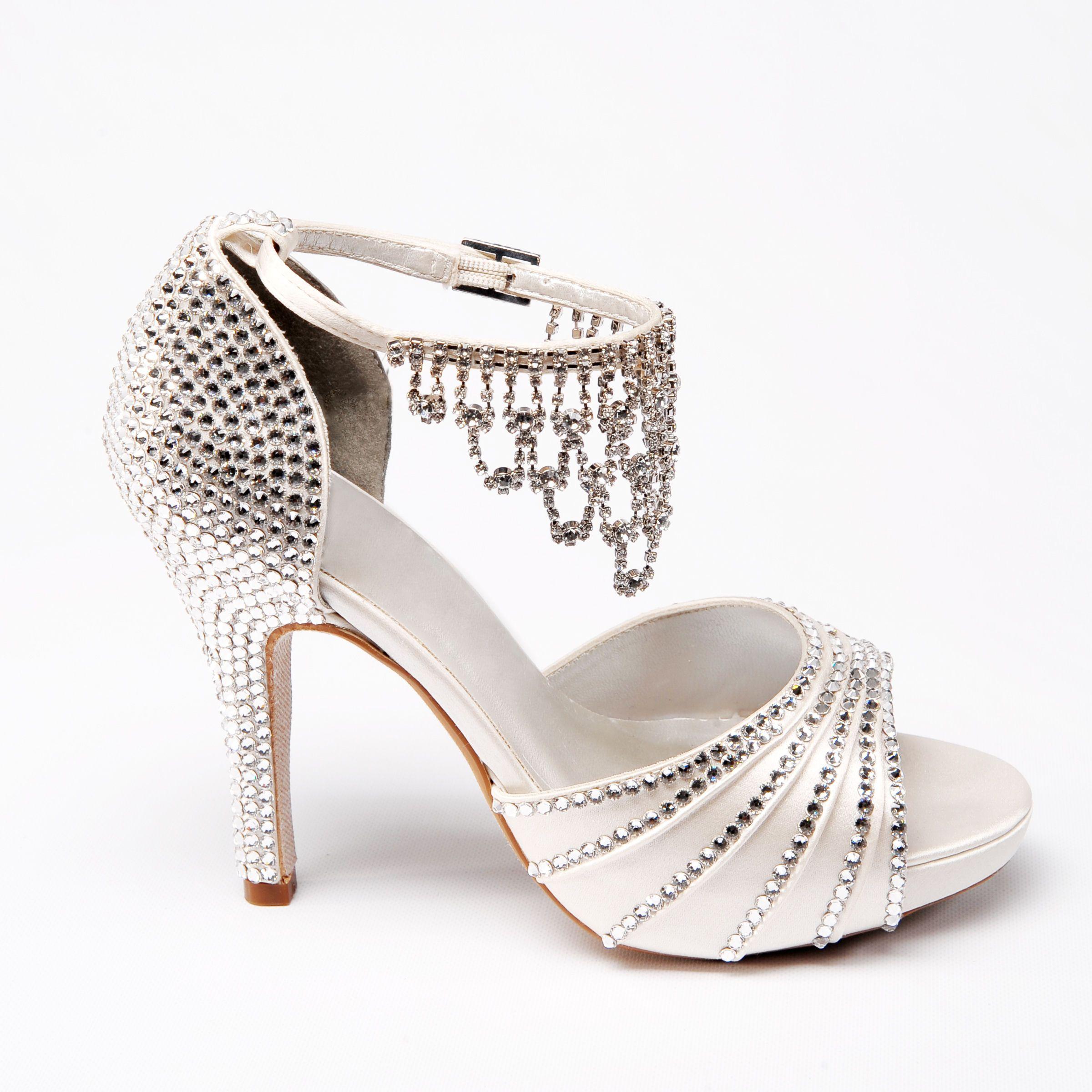 Princess Bridal Shoes Custom Designed