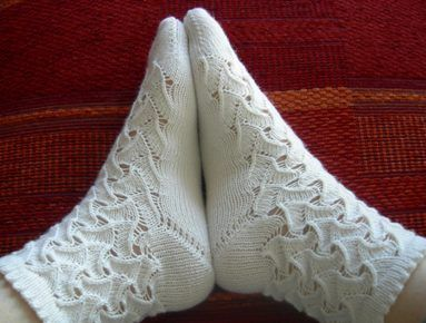 Fetzenmuster Socken pattern