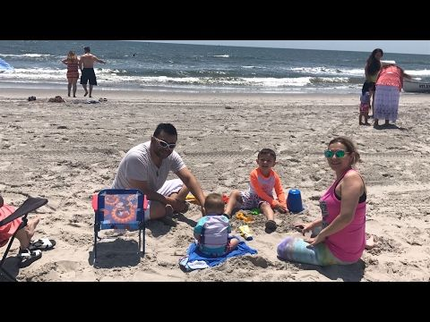 JUEGOS EXTREMOS + VIAJE FAMILIAR DIA DE PLAYA EN ATLANTIC CITY, NJ | VLOG SEMANAL - YouTube