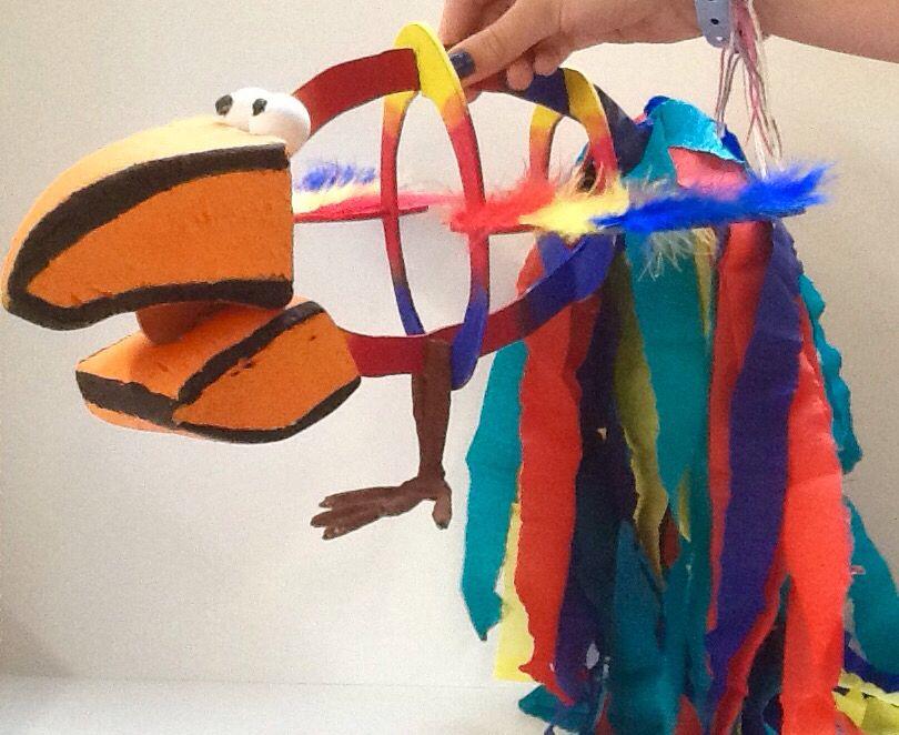 Handvaardigheidswerkstuk klas 1. Opdracht: Pimp my Fish. Papagaaivis.