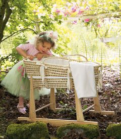 I am in love with this Moses basket and rocking stand. A MUST for future babies!!!