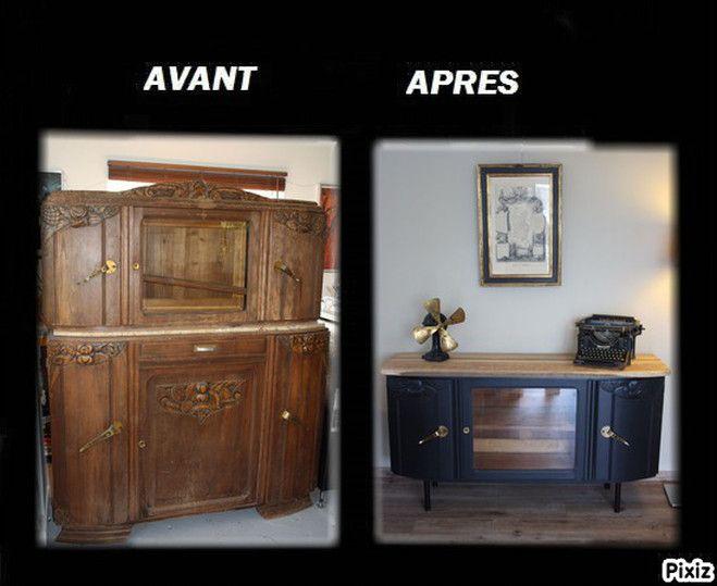 A Propos Avant Apres Mandartdeco Decoration Creation De Meubles Relooking De Mobilier Relooking Meuble Avant Apres Mobilier De Salon