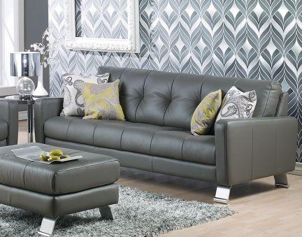 Opena leather sofa - Lawrance Furniture