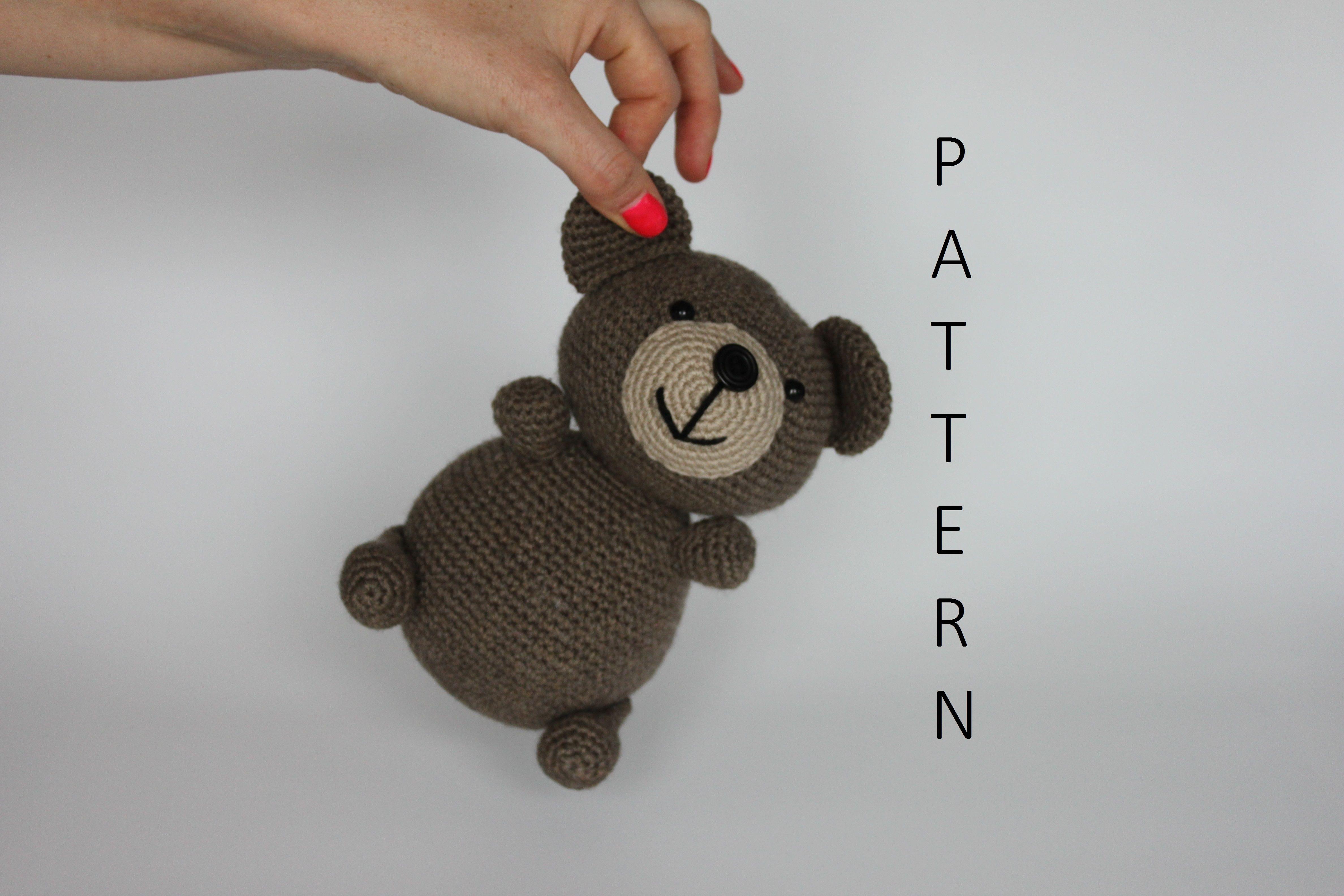 Amigurumi Crochet Patterns Teddy Bears : An amigurumi crochet pattern by crochet by starsha teddy bear