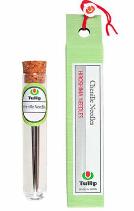 Notions - Tulip Chenille Needles - Thin Size 24 - 6 Needles