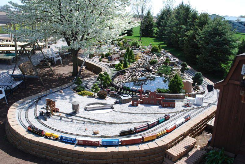 creating a garden railroad the public could enjoy wasn t