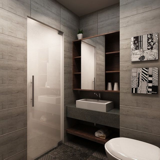 Bathroom Doors Sg hdb 4-room $30k @ buangkok green - interior design singapore