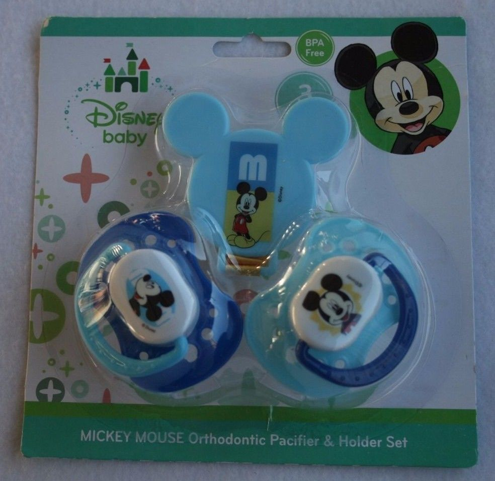 Feeding Baby Disney Baby Bpa Free Mickey Mouse Orthodontic Pacifier