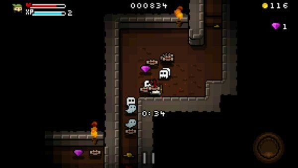 8 bit dungeon game Heroes of Loot is now available for
