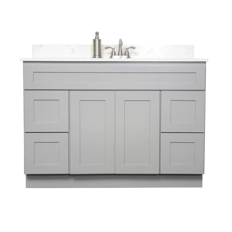 48 Single Bathroom Vanity Base Only In Finished Match Color With Uv Coated Clear Lacquer Bathroom Vanity Base Single Bathroom Vanity Bathroom Vanities Without Tops