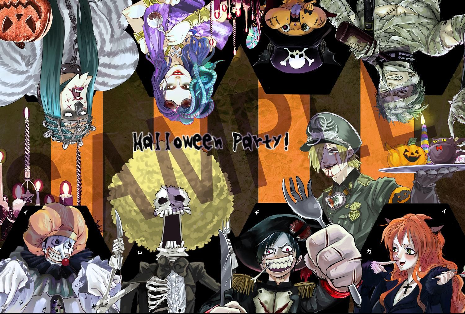 One Piece, Halloween Party