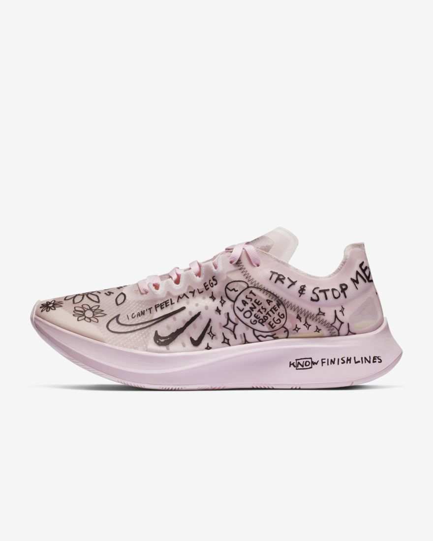 Nike Zoom Fly SP Fast Nathan Bell Shoes At5242 100 White