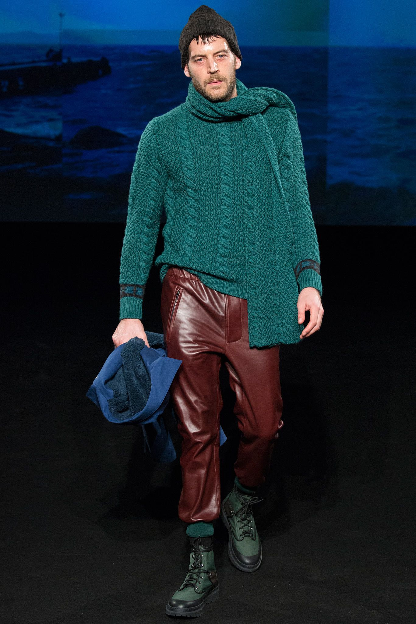 Umit Benan Fall 2015 Menswear Fashion Show –