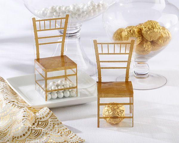 Sedie chiavarine ~ Gold chiavari gold chair favor box set of 24 chiavari chairs