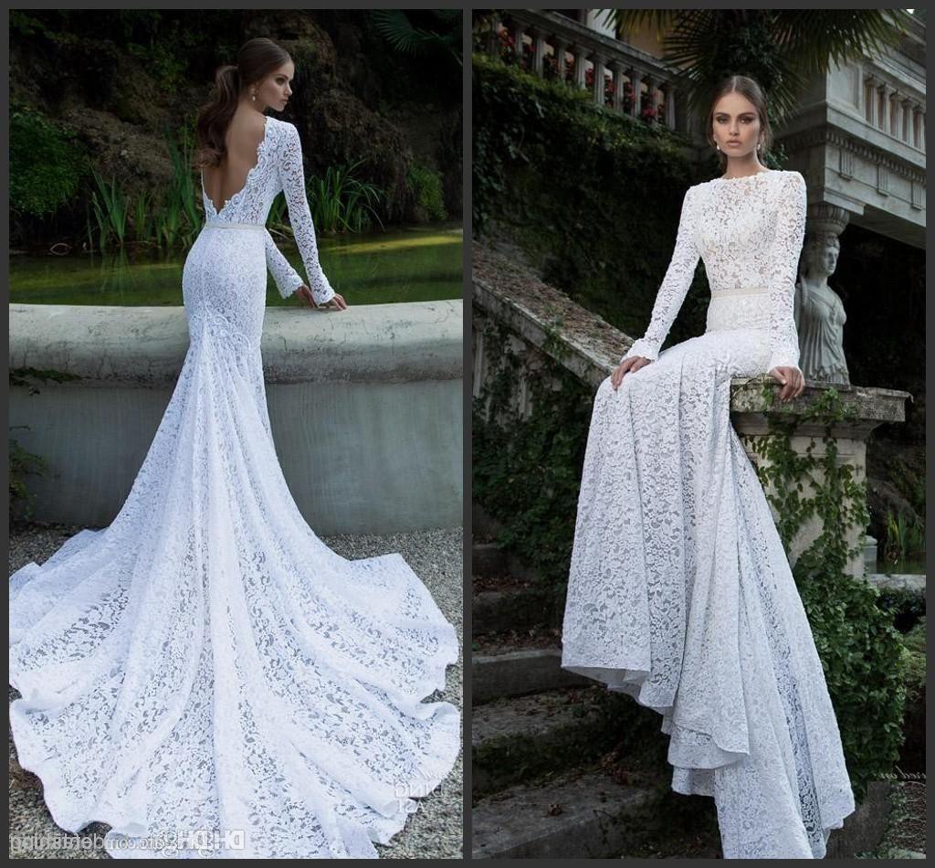 Backless Lace Fishtail Wedding Dress | Wedding Dress | Pinterest ...