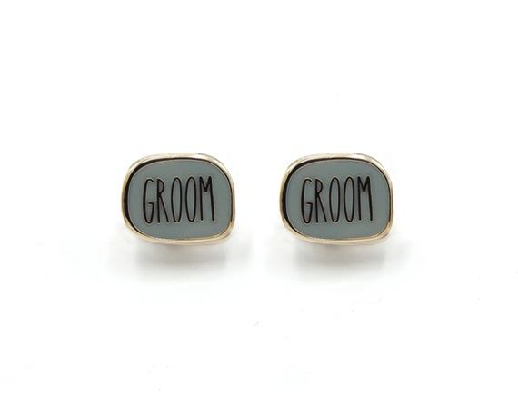 Groom And Groom Mini Enamel Pin Set Pins For Two Grooms Unique Engagement Gift Wedding Shower Unique Engagement Gifts Engagement Gifts Wedding Shower Gifts