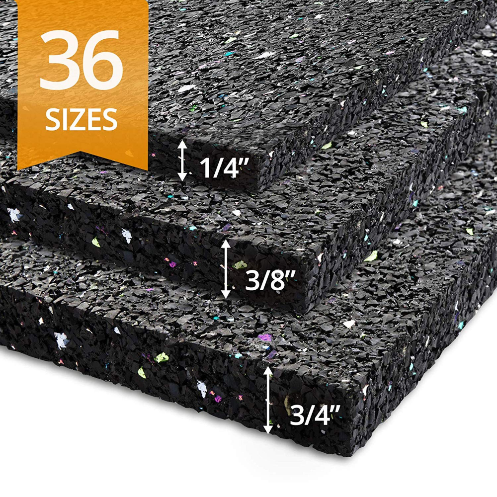 Ergocell Recycled Rubber Floor Mat Shock