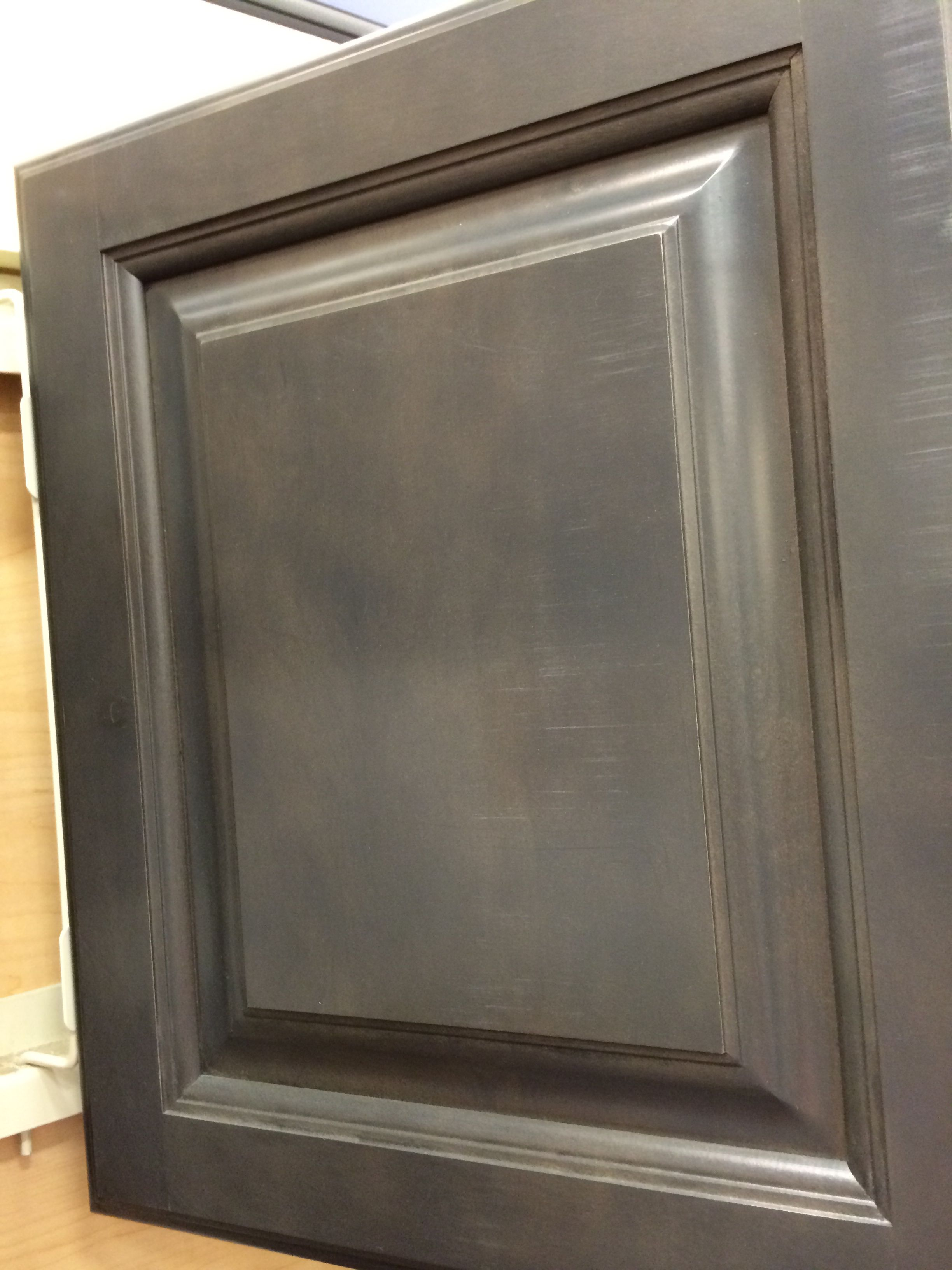 Diamond Reflections Cabinetry @ Lowes. Storm | HomeStyle Kitchen ...