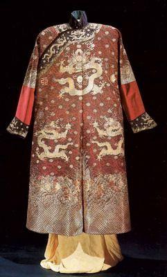Китайская традиционная одежда - 幸福姑娘的页