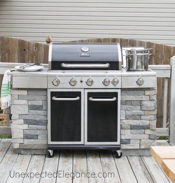 diy grill station using probond advanced diy grill grill station