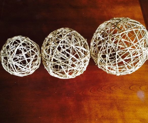 How To Make Decorative Balls Fascinating Twine Orbs  Twine Decoration And Craft Review