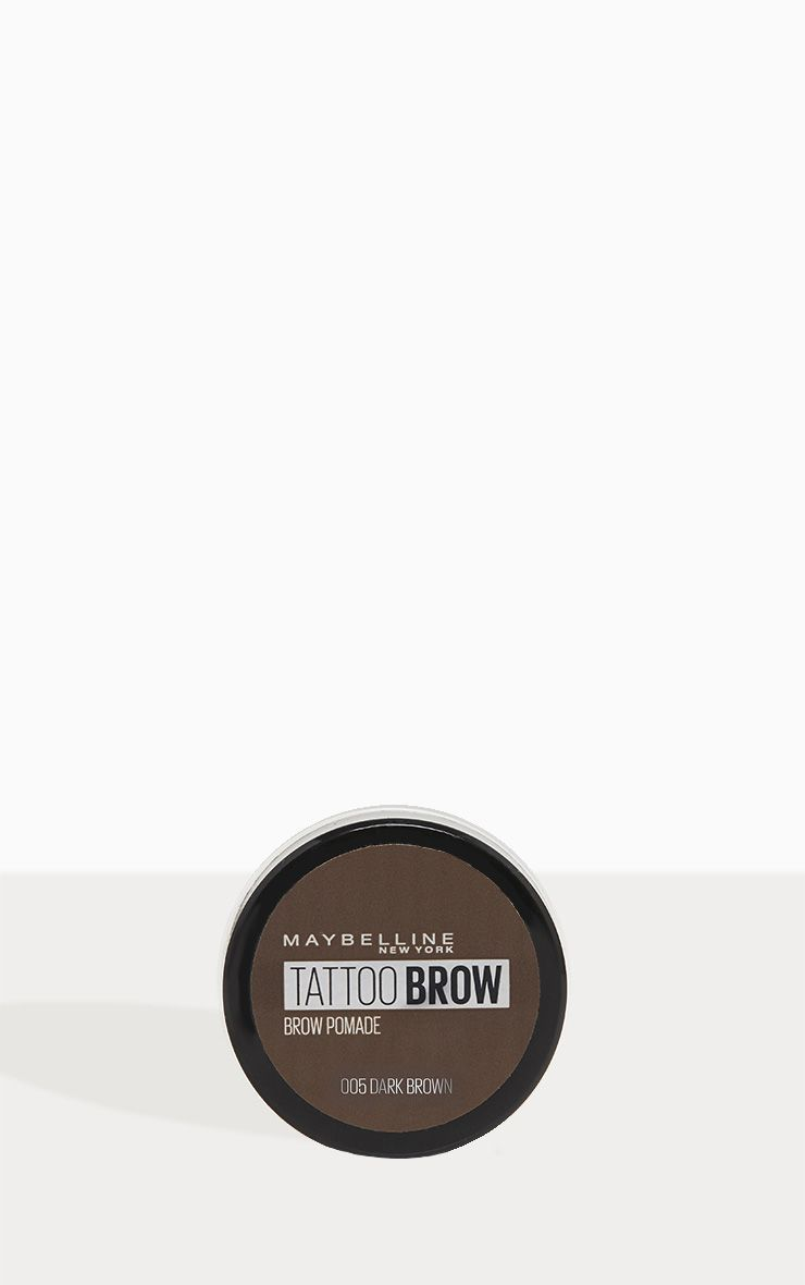 432eb40172c Maybelline Tattoo Brow Pomade Pot Dark Brown in 2019 | Products ...