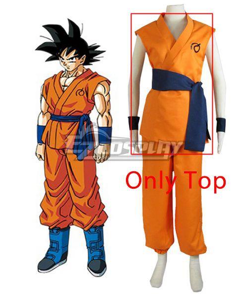 Dragon Ball Super Z Son Goku Kakarotto Cosplay Costume Only Top Goku Outfit Naruto Costumes Dragon Ball Super